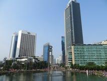 Attività sulla rotonda dell'Indonesia dell'hotel fotografia stock libera da diritti