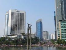 Attività sulla rotonda dell'Indonesia dell'hotel immagine stock libera da diritti
