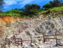 Attività vulcanica immagini stock