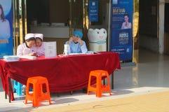Attività del paziente esterno dell'ospedale Fotografia Stock Libera da Diritti
