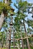 Attività dello skypark di Carolina del Sud Myrtle Beach Fotografia Stock