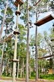 Attività dello skypark di Carolina del Sud Myrtle Beach Immagine Stock