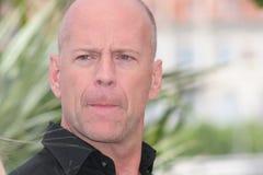 Attore Bruce Willis fotografia stock libera da diritti