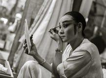 Attore cinese di opera Fotografia Stock Libera da Diritti