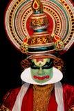 Attore di ballo di tradional di Kathakali Fotografia Stock