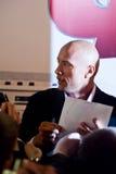 Attore Dwayne (la roccia) Johnson a Mosca Fotografia Stock Libera da Diritti