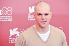 Attore Matt Damon Fotografia Stock Libera da Diritti