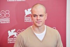 Attore Matt Damon Fotografie Stock