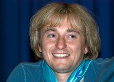 Attore russo Sergei Bezrukov immagine stock libera da diritti
