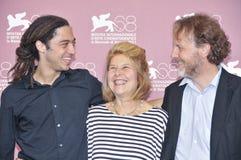 Attori Jonas Carpignano, Fiorella, Infascelli e Francesco Bruni Immagini Stock