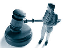 Attorney and gavel Stock Photo