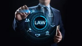 Attorney at law legal business advice lawyer. Labor compliance. stock photo