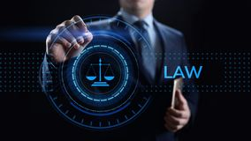 Attorney at law legal business advice lawyer. Labor compliance. stock image