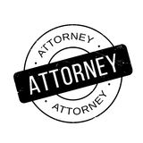 Attorney rubber stamp Royalty Free Stock Images