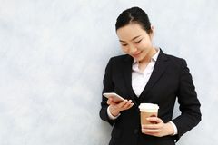 Attorney - young asian woman lawyer Royalty Free Stock Photography