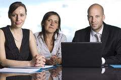 Attorneys at Law Firm. Three attorneys at Law Firm stock photos