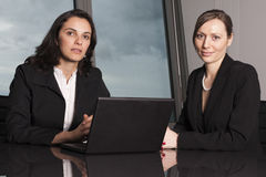 Attorneys at Law Firm. Two female attorneys at Law Firm royalty free stock photography