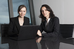 Attorneys at Law Firm. Two female attorneys at Law Firm stock image