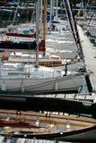Attracco dell'yacht in Cancale Fotografia Stock Libera da Diritti