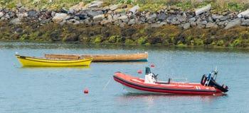 Attracco della barca Fotografia Stock Libera da Diritti