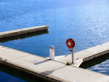 Attracco della barca Immagini Stock