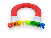 Attract Customers Royalty Free Stock Images