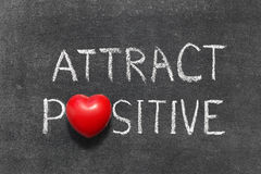 Attract positive Royalty Free Stock Images