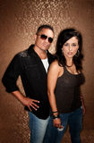 Attractibe Hispanic Couple Stock Photos