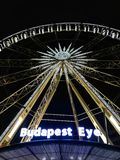 Budapest eye royalty free stock photo