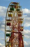 Attraction (Carousel) Ferris wheel Stock Images