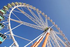 Attraction de grande roue Photos stock