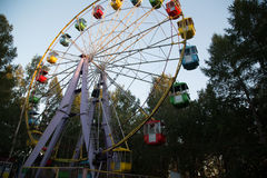 Attraction de grande roue Image libre de droits