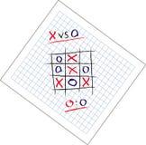 Attraction de jeu de tep de Tic Tac Image libre de droits