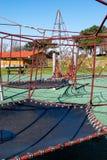 Attraction de parc d'enfants photo stock