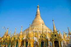 Attraction de voyage de Pagonda Myanmar Photos stock