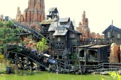 Attraction at Disneyland France Royalty Free Stock Photo