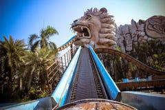 Attraction at Dream World in Bangkok Royalty Free Stock Image
