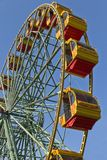 Attraction Ferris wheel. Royalty Free Stock Photography