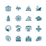Attraction icons | MICRO series Royalty Free Stock Photography