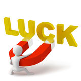 The attraction of luck. Royalty Free Stock Images