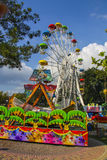 Attraction park  in Gelendzhik Royalty Free Stock Image