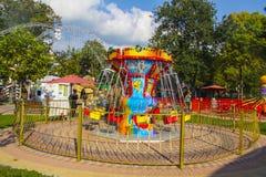 Attraction park  in Gelendzhik Royalty Free Stock Photos