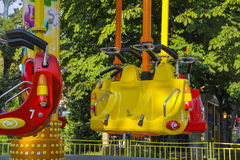Attraction park  in Gelendzhik Stock Photos