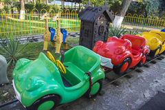 Attraction park  in Krasnodar Royalty Free Stock Photos