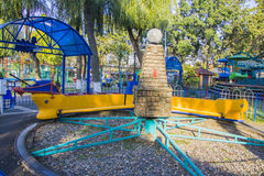 Attraction park  in Krasnodar Stock Image