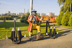 Attraction park  in Krasnodar Royalty Free Stock Images