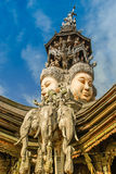 Attraction in Pattaya- Face of God Royalty Free Stock Photo