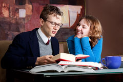 Attraction with study partner Stock Photography