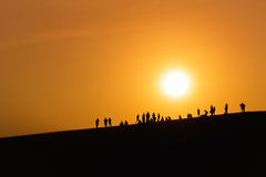 The attraction of the Sun Stock Photography