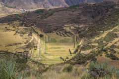 Attraction Tipón, Peru. Stock Photo
